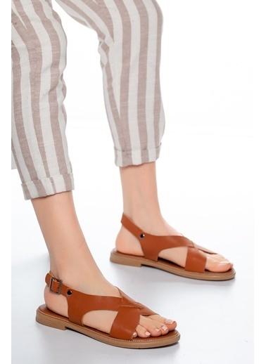 Mask Sandalet Taba